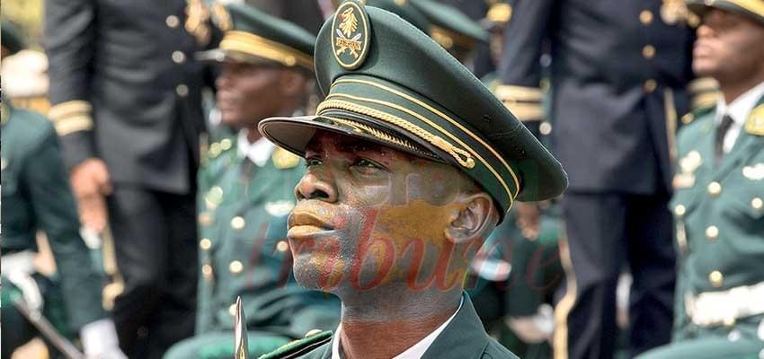 Image : Lieutenant Davy Gildas Mboum Edinguele: le major !