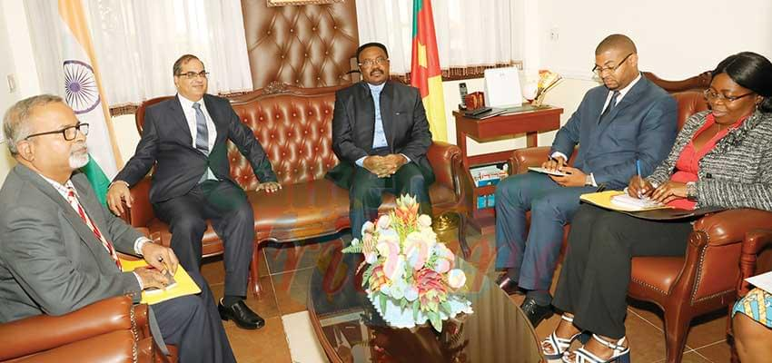 Cameroon-India Relations : Areas of Common Cooperation Examined