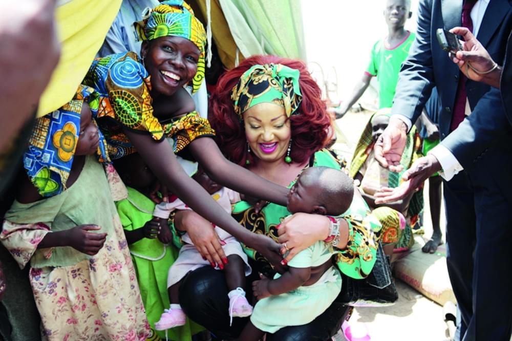 Image : Santé de la mère et de l'enfant: la première dame veille