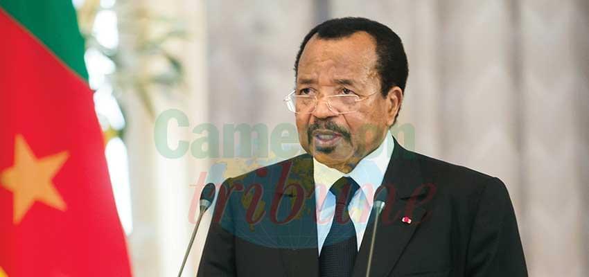 Remise en cause du multilatéralisme, guerres commerciales, terrorisme… : Paul Biya tire la sonnette d'alarme