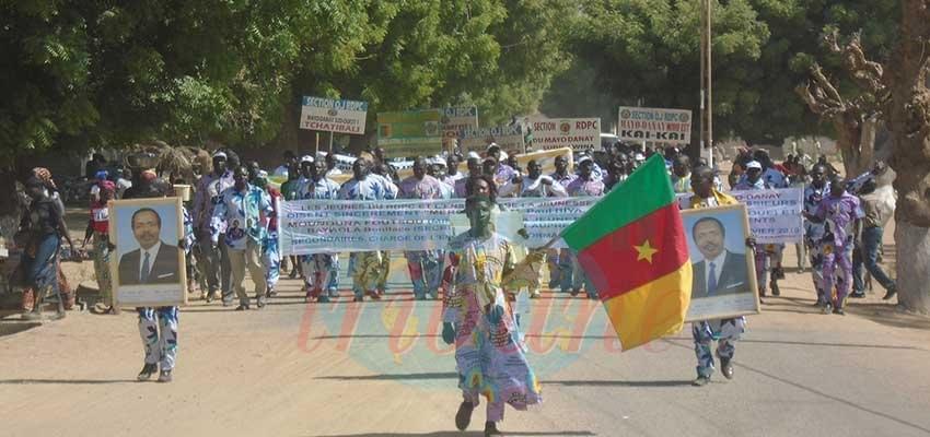 Image : Yagoua : les jeunes du Mayo-Danay remercient Paul Biya