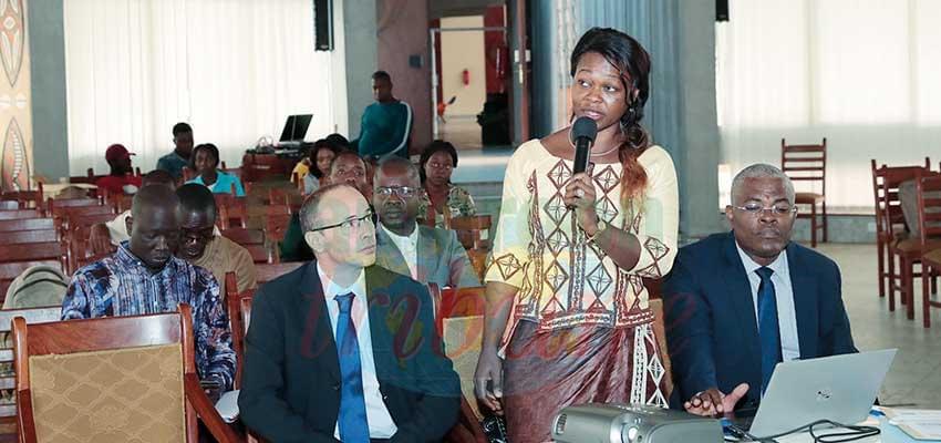 Les membres du Comité de pilotage mardi à Yaoundé.