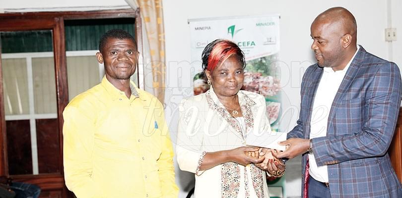 Image : Entreprenariat agricole: Plus de 151 millions remis aux producteurs