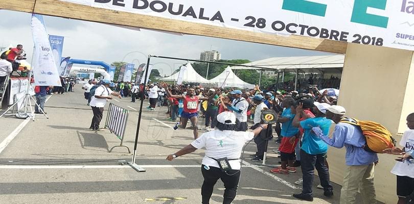 Image : Marathon de Douala: Les Kenyans récidivent