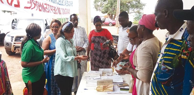 Image : Distribution des cartes électorales: ONU-Femmes en renfort à l'Est