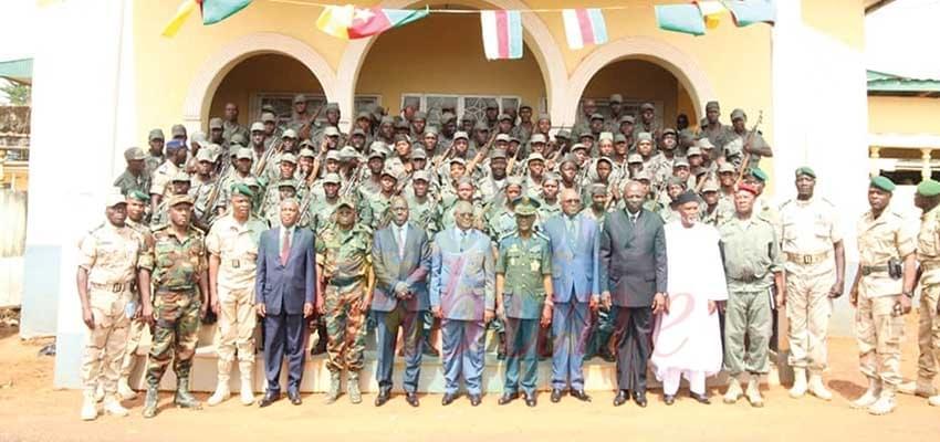 Image : 367 élèves de l'Enam achèvent leur formation militaire