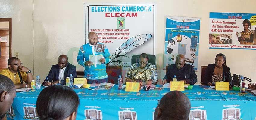 Elecam  : le Conseil électoral sur le terrain