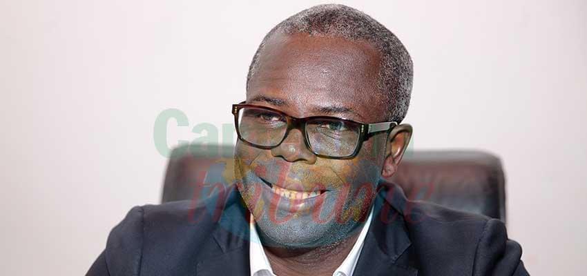 Jean Marie Abouna, maire de Yaoundé 1er.