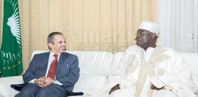 Image : Cameroun-Arabie saoudite: l'ambassadeur chez le PAN