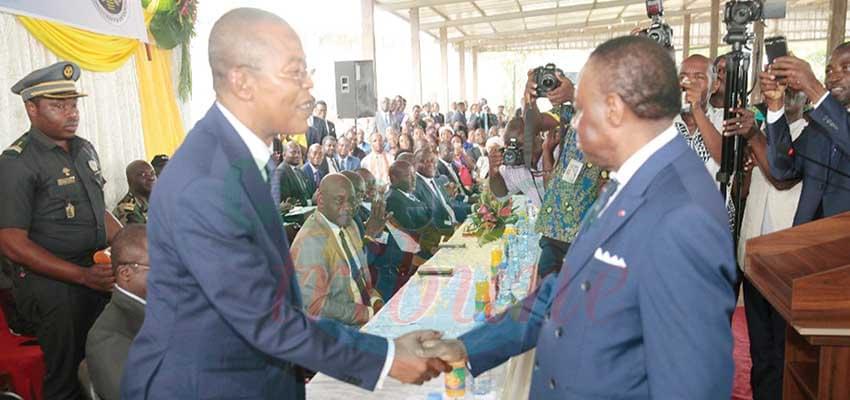 Le Pr Magloire Ondoa prêt à assumer ses nouvelles fonctions.