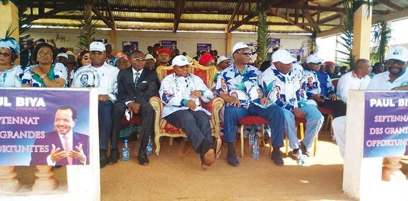 Image : Djat et Lobo: Bengbis soutient le candidat du RDPC