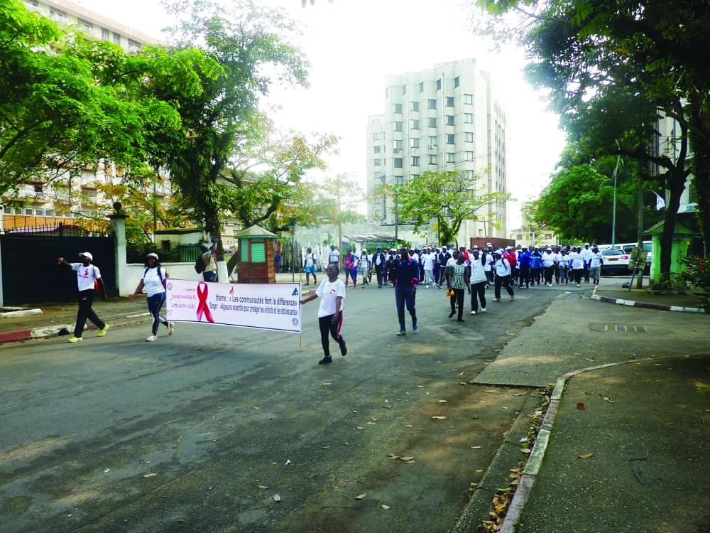 World Aids Day Celebrated in Douala