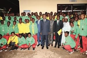 Image : African Youth Games: Cameroon's Flagbearers Compensated