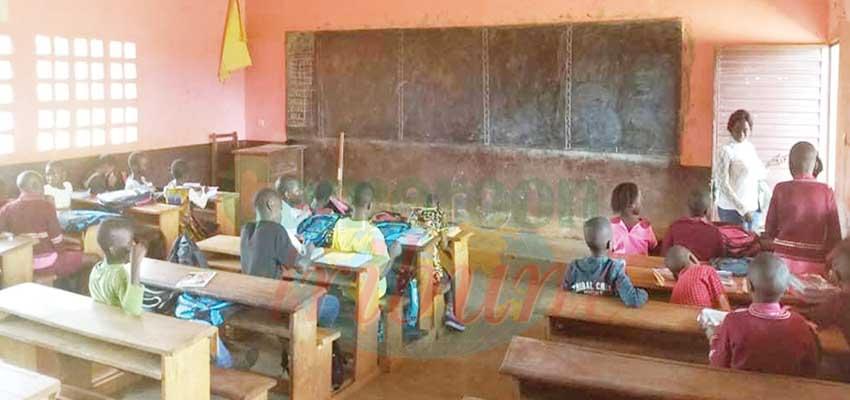 Pupils who resumed in Bamendakwe have been receiving normal school courses regardless of the population present in classes.