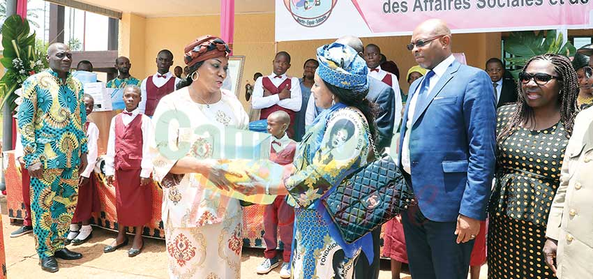 Protection of Children: First Lady Equips Health Unit
