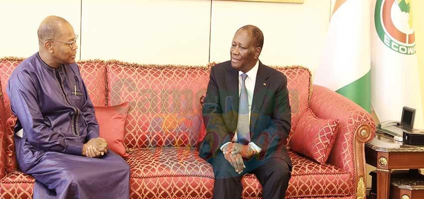 Echanges entre Alassane Ouattara et Mohamed Ibn Chambas