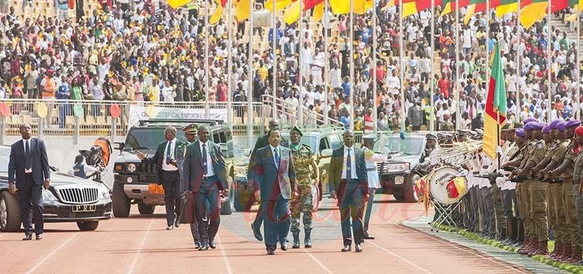 Clôture de la saison sportive: Paul Biya dans la ferveur populaire