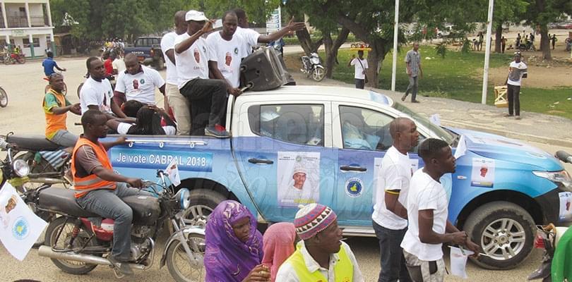 Image : Extrême-Nord: Libii et Osih en campagne à Yagoua