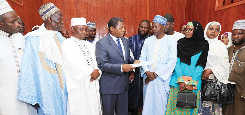 Hadj 2019: Paul Biya accorde une subvention d'un milliard de F