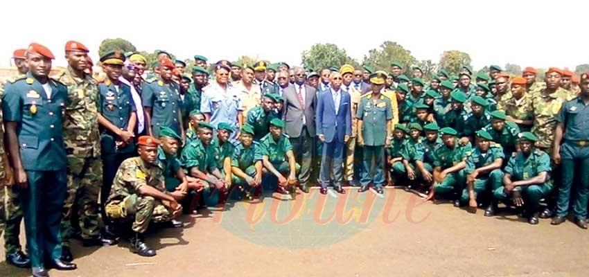 Image : 50 Eco-guards End Pre-military Trainig