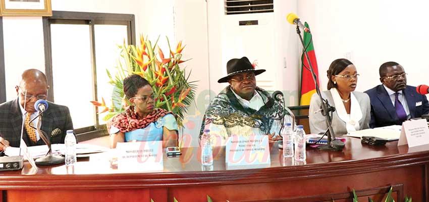 Commune de Douala 1er: le compte administratif 2018 adopté