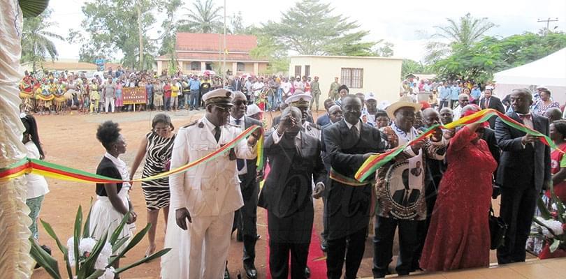 Image : Abong-Mbang: l'Hôtel de ville inauguré