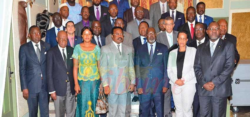 African accredited diplomats and government officials who assisted at the event.
