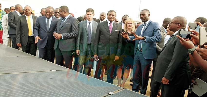 Image : Aéroport : la centrale solaire lancée