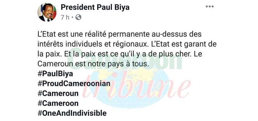 Paul Biya: de la prééminence de l'Etat