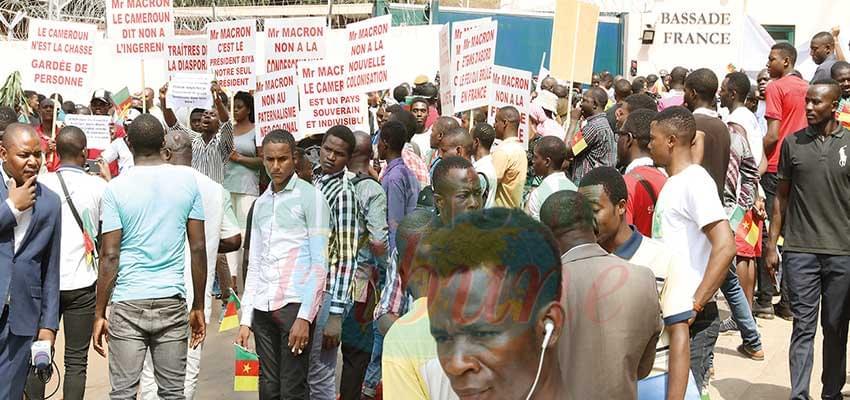 Propos du président Emmanuel Macron : la jeunesse camerounaise désaprouve