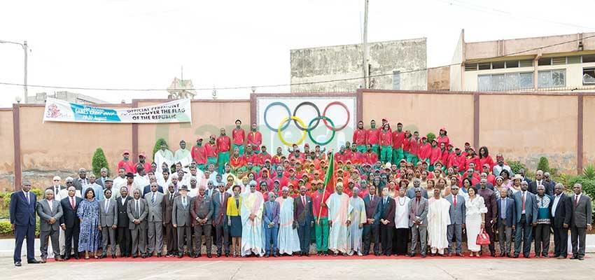 La Cameroon Team prête à relever le défi de Rabat.