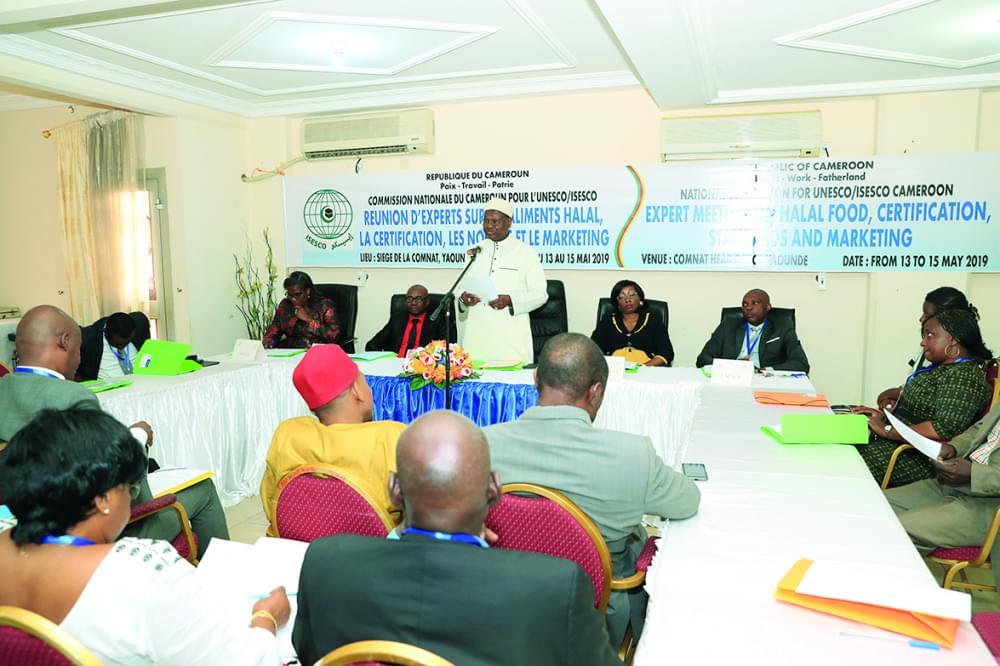 L'ouverture de la rencontre hier à Yaoundé.