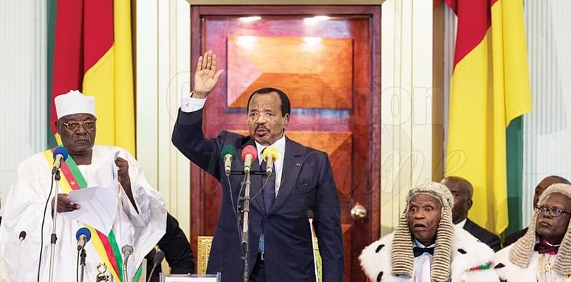 Septennat 2018-2025: Paul Biya fixe les grandes orientations