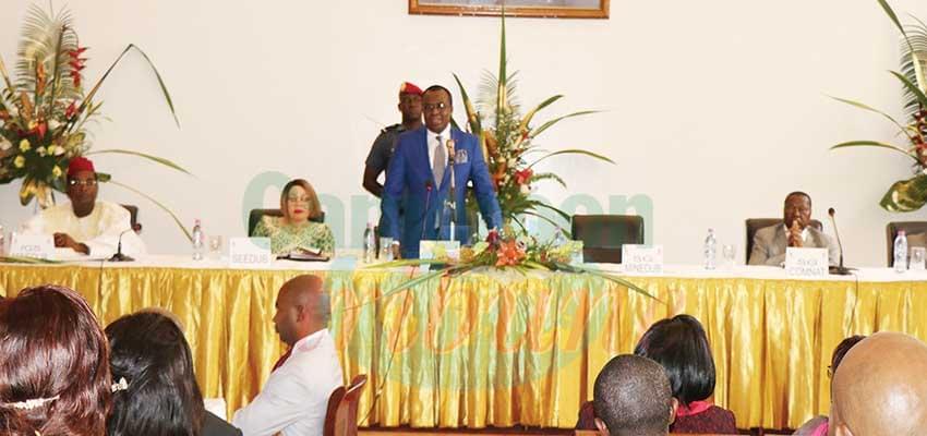Pr. Laurent Serge Etoundi Ngoa :« Je suis convaincu de ce que vous serez à la hauteur de la tâche qui vous est confiée. »
