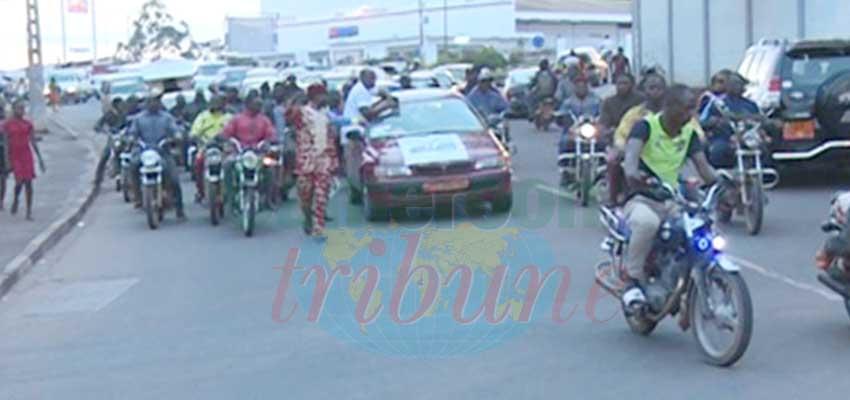 Les transporteurs ont tenu à rendre hommage au chef de l'Etat.