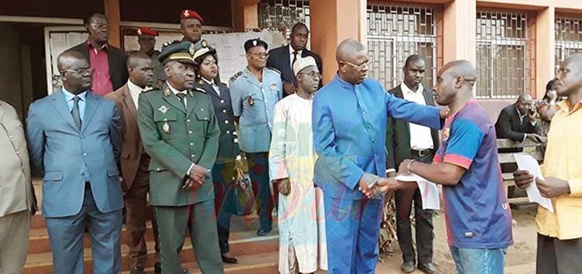 Bafoussam: 16 bénéficiaires de la clémence présidentielle