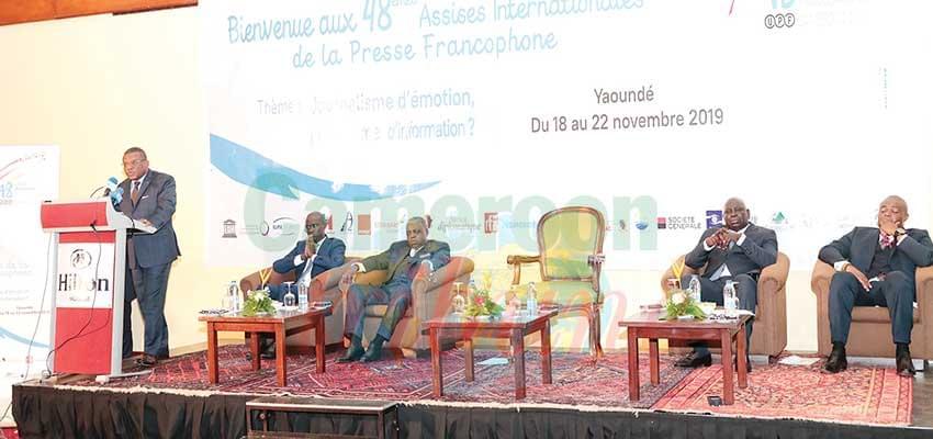 Union internationale de la presse francophone : primeur à l'information !