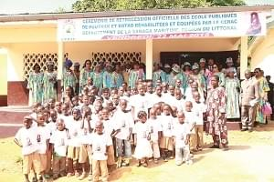 Image : Education: Chantal Biya Remains Teacher, Builder