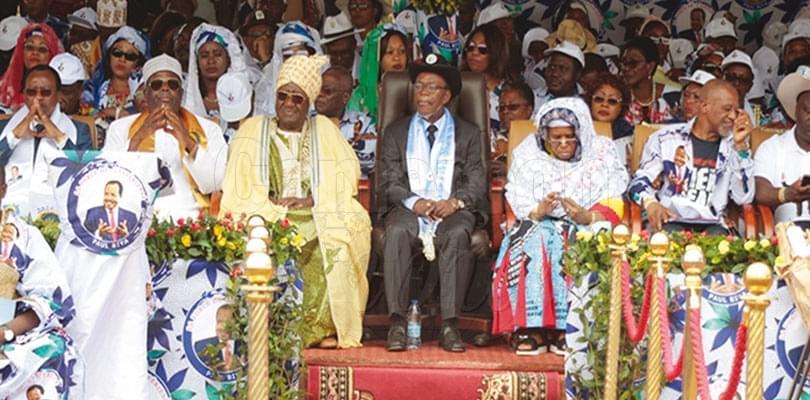 RDPC-OUEST: un vote massif promis à Paul Biya