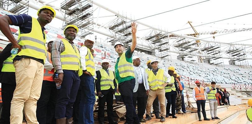 Image : Mission de sécurité de la CAF: le travail a démarré