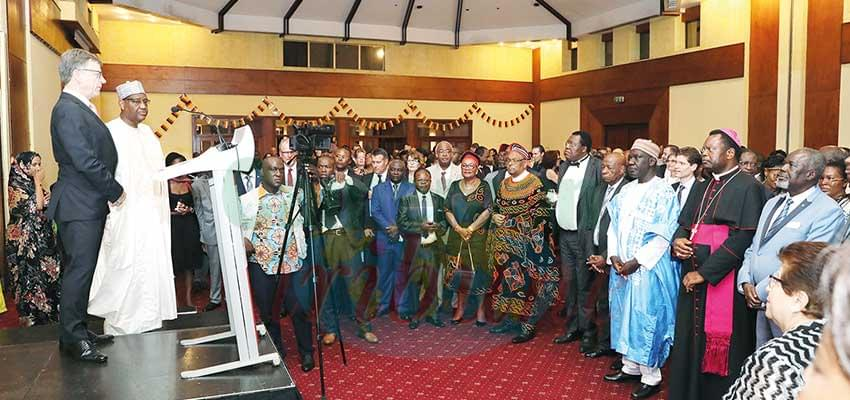 Carnet Diplomatique : German Unity Day Celebrated in Yaounde