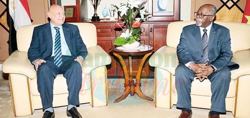 Image : Cameroon-Egypt Relations : Parties Exchange Diplomatic Views