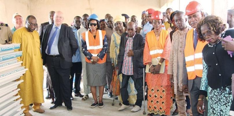 Image : Réhabilitation des handicapés: un Centre en chantier à Maroua