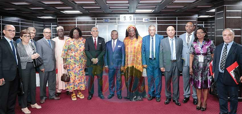 Prime Minister Dion Ngute and his Tunisian guests committed to greater cooperation.
