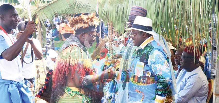 Ngondo 2018: l'hommage à Lotin A Samè