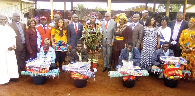 West Region: Cameroon Red Cross Assists Displaced Families