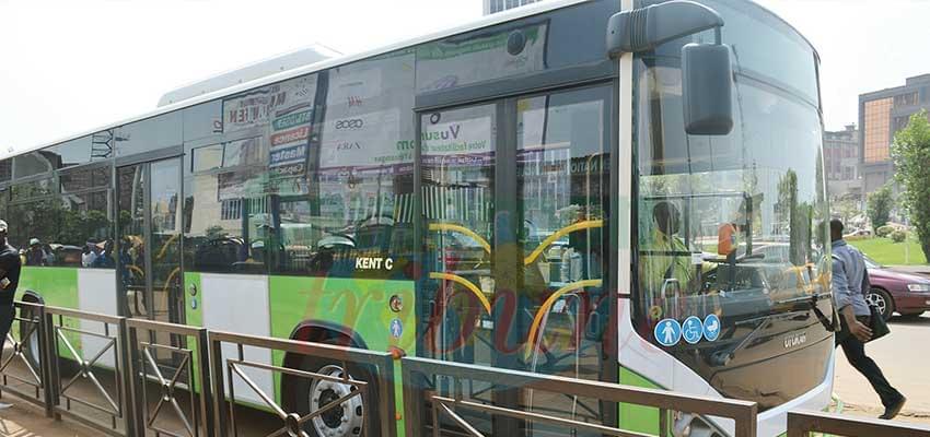 Quelques bus ont repris du service.