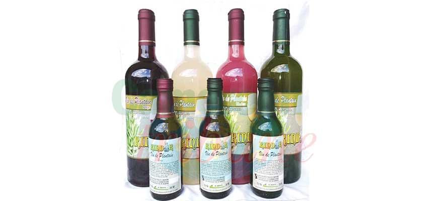 Le vin du terroir bien apprécié.