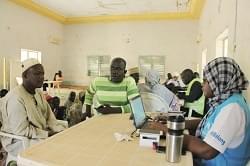 Image : Recensement des réfugiés nigérians hors camp: le gouvernement et le HCR optent pour la biométrie
