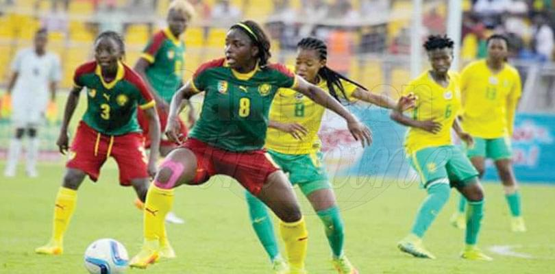 Image : 2018 WAFCON: Lionesses Round-off Training In Mbankomo